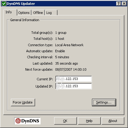 Dynamic DNS (DDNS) or A backup for livenode com