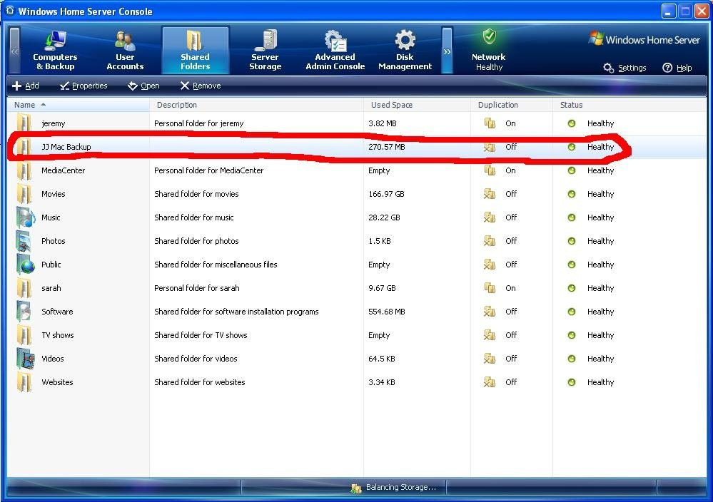 How To Use Time Machine with Windows Home Server