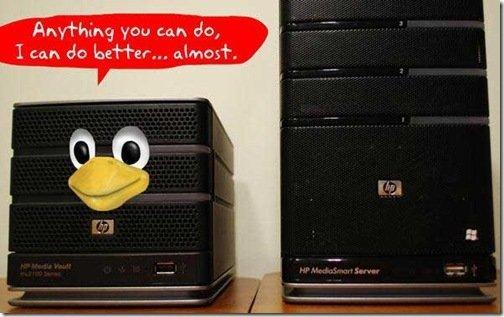 HP Media Vault 2100