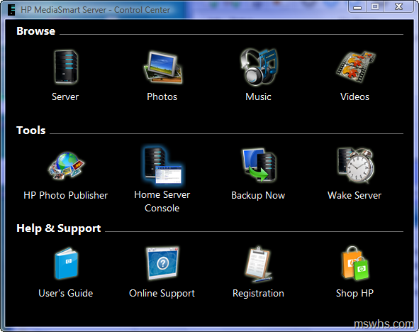 hp mediasmart software  for windows 7