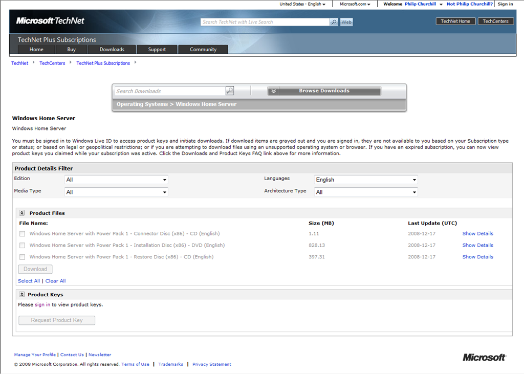 WHS on MSDN and TechNet Very Soon