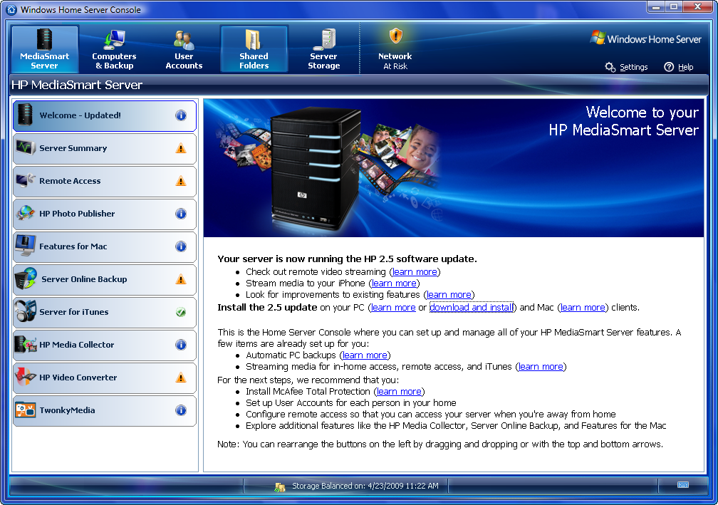 Hp Mediasmart Server Connector Software