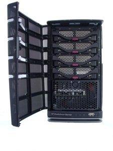 HP Mediasmart EX495 open