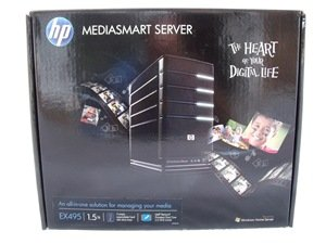 HP Mediasmart EX495 box