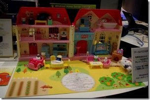 Hello Kitty Dolls House Exterior