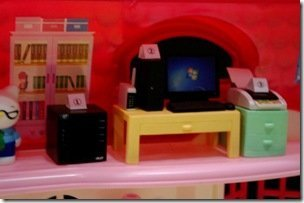 Hello Kitty Dolls House Interier