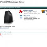 HP LX197 MediaSmart Server in the Works