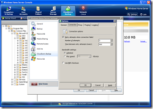 CloudBerry Backup for WHS 1.3.3