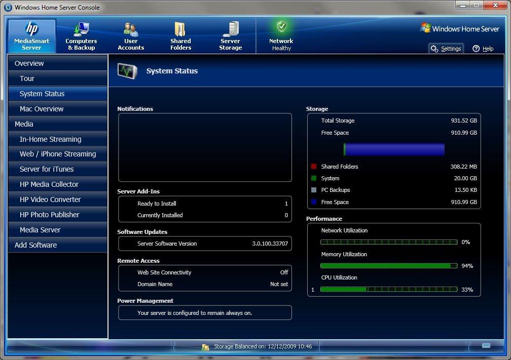 Installing hp 3. 0 software on your hp mediasmart server part one.