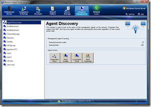 Manageability Agent Discovery