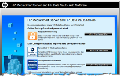 HP Recommends KeepVault