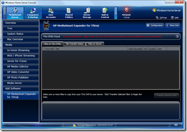 HP MediaSmart Expander for TiVo 4.0.0.36035