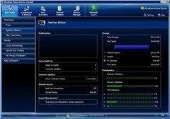HP X310 system status