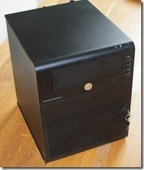 HP ProLiant MicroServer Front