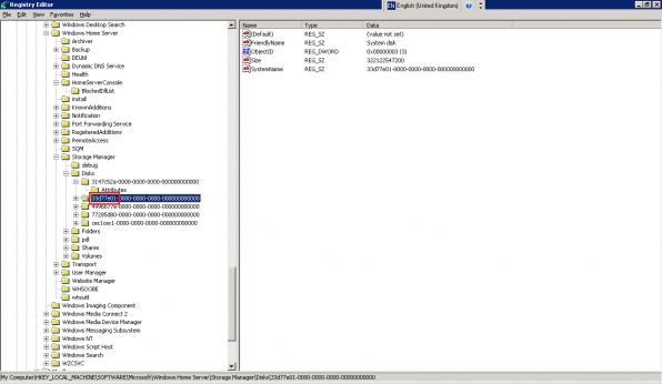 Disk ID Registry
