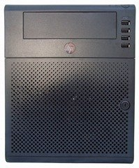 HP MicroServer - Front