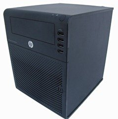 HP MicroServer - Side