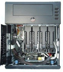 HP MicroServer - Front Open