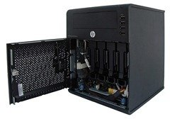 HP MicroServer - Side Open