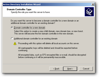 Active Directory Domain Controller