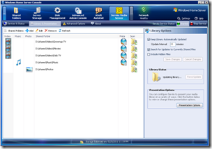 Serviio for Windows Home Server 0.5.2.0