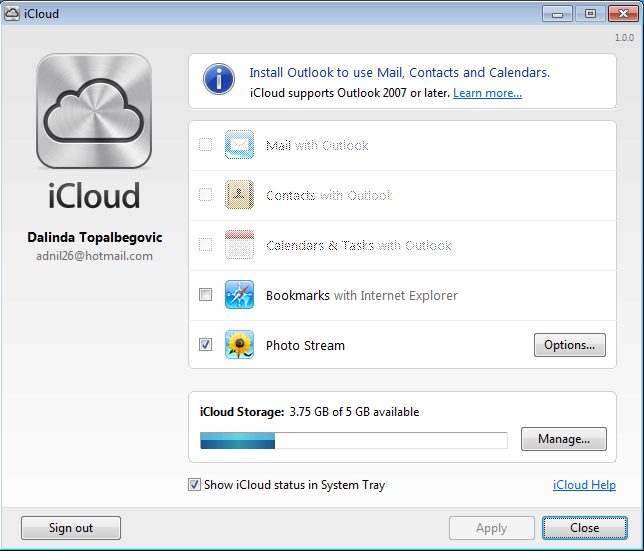 how to find pictures on icloud
