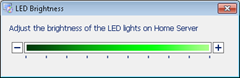 LED Brightness