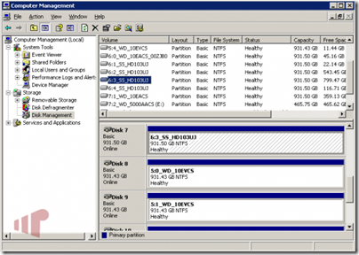 WHS Computer Management