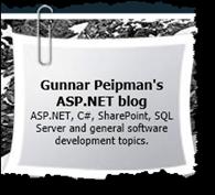 Gunnar Peipmans Blog