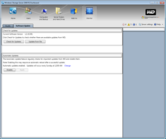 Dashboard - Software Update