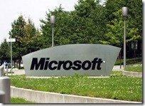 Microsoft Sign on Campus