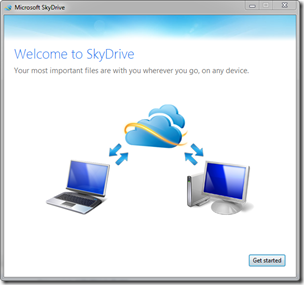 Welcome to SkyDrive