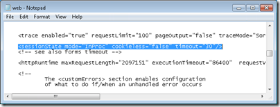 Increase Remote User Timeout in WHS 2011