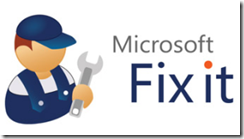 Microsoft Fix It Logo