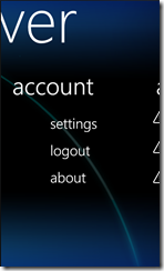 My Server Account
