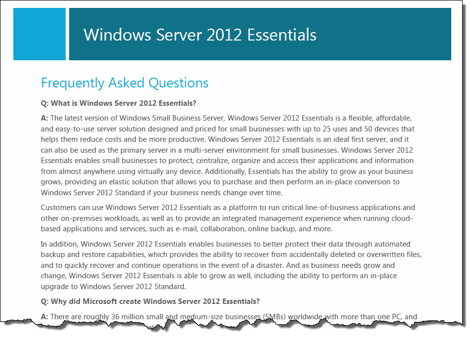 Windows server 2012 essentials sale