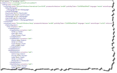 Headless installation Using Autounattend.XML in WS2012e