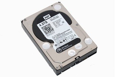 WD Black 4TB Hard Drive