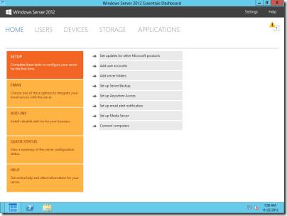 WS20121e Management Features