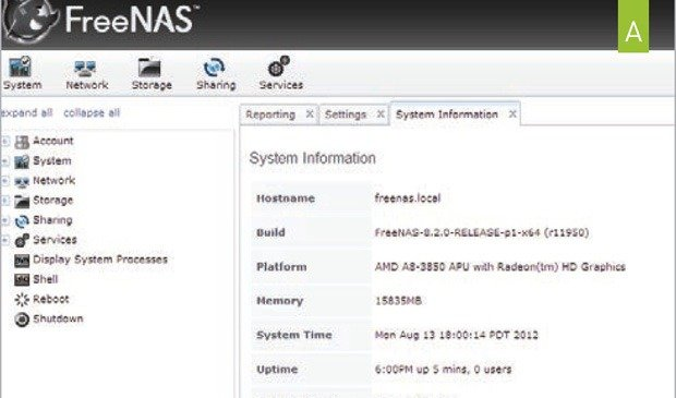 how to build a freenas server