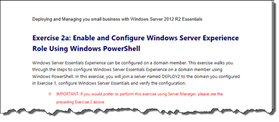 Deploying and Managing your small business with Windows Server 2012 R2 Essentials