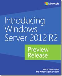 Windows Server 2012 R2 Preview Release eBook