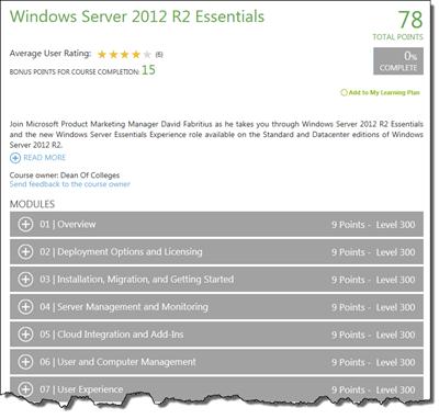 Learning Windows Server 2012 R2 Essentials