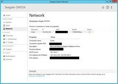 Seagate NAS - Monitoring - Network (teamed)
