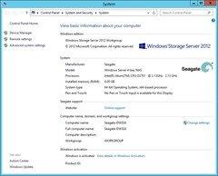 Seagate NAS - Windows System