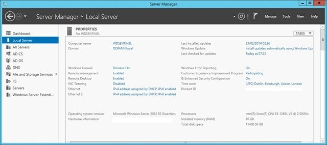 DS6100 Server Manager
