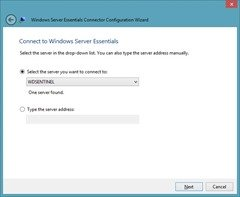 DS6100 Server confirmation