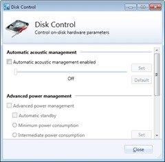 StableBit Scanner - Disk Control