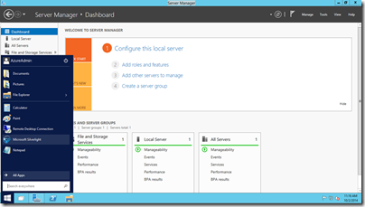 Spin-Up Windows Server Technical Preview on Azure