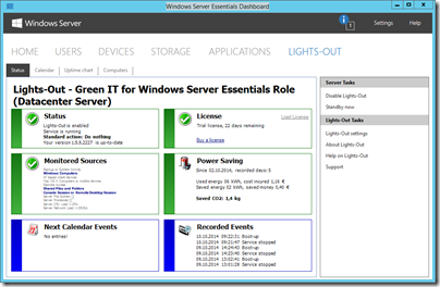 Lights-Out for Windows 10 and Windows Server Technical Preview